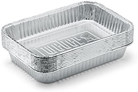 Weber 6415 Small 7-1/2-Inch-by-5-inch Aluminum Drip Pans, Set of 10 - 10131865 , B000WEKLTE , 285_B000WEKLTE , 345600 , Weber-6415-Small-7-1-2-Inch-by-5-inch-Aluminum-Drip-Pans-Set-of-10-285_B000WEKLTE , fado.vn , Weber 6415 Small 7-1/2-Inch-by-5-inch Aluminum Drip Pans, Set of 10