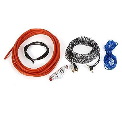 Carro 3 calibre cabo 6GWK amplificador Terminais Kit