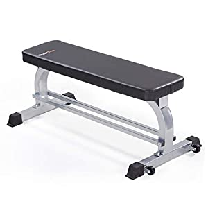 Flat Weight Workout Bench, Cheertran 700LBS Exercise Bench for Weight Training and Ab Exercise – Utility Workout Benches for Home