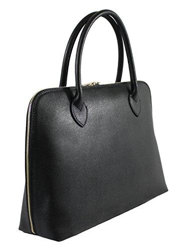 à Sac main BAG MY cuir femme Sacoche Noir OH en tITSqB