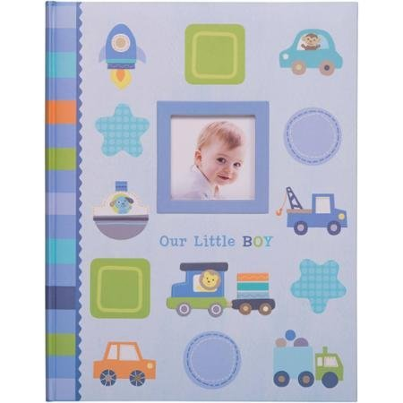 Our Little Boy Baby's First Memory Book