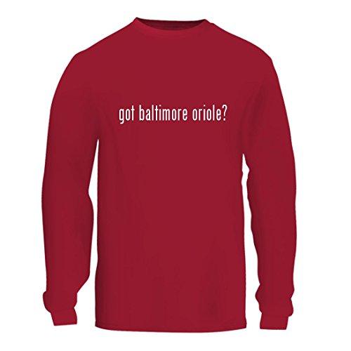 got baltimore oriole? - A Nice Men's Long Sleeve T-Shirt Shirt, Red, (Baltimore Orioles Calendars)