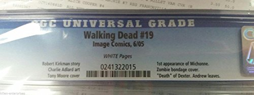 Buy walking dead 19 cgc