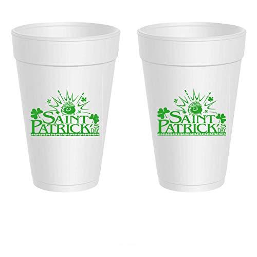 - St. Patrick's Day Styrofoam Cups - St. Patrick's Day