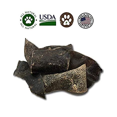 Amazoncom Top Dog Chews Wild Pig Hide Chips From Texas 5 Pack