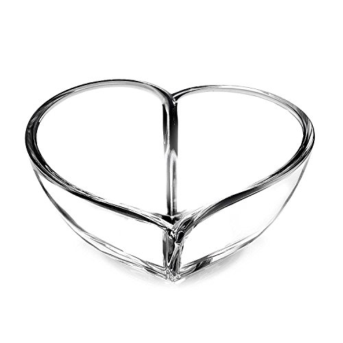 Orrefors Heart 10 Inch Bowl, Large