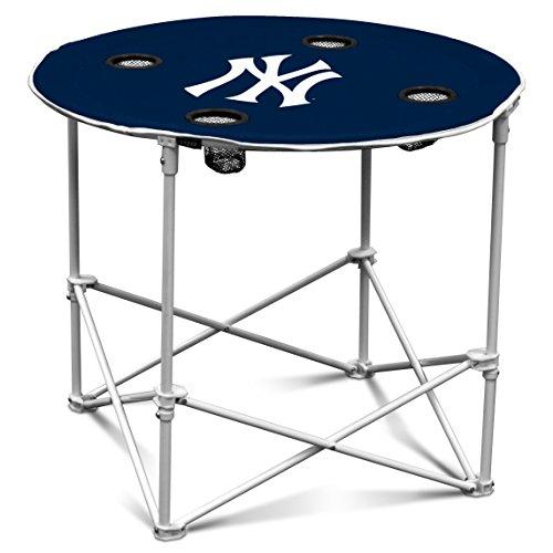 MLB NY Yankees Round Tailgating Table