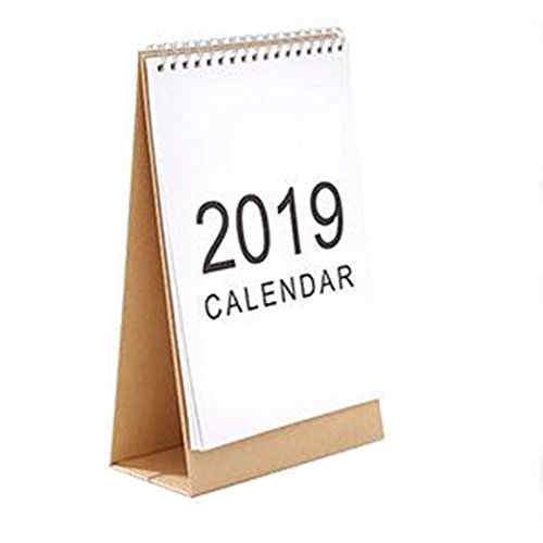 JUNDA Desk Pad Calendars,Twin-Wire Binding,July 2018 - December 2019,Monthly Planners for Office,School,Family,15x24x7CM,Pack of 2 by JUNDA (Image #6)