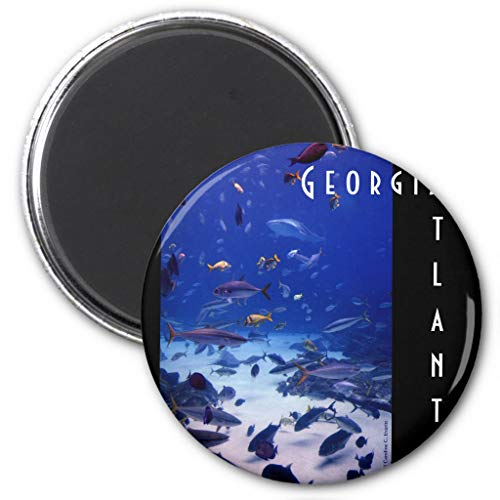 "Zazzle Atlanta Georgia Magnet, 2.25"" Round"