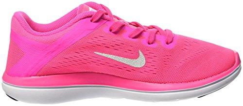 Nike Flex 2016 Rn (Gs), Zapatillas de Running para Mujer rosa