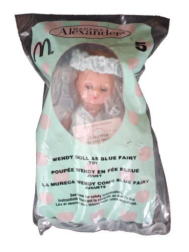 2004 McDonalds Happy Meal Toy Madame Alexander #5 Wendy Doll as Blue Fairy MIP