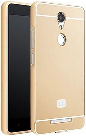 Prevoa ® 丨Metal Bumper Back PC Funda Cover Case Carcasa para ...