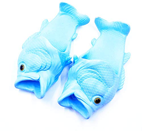 The Original Fish Feet Shoes: Blue Medium -