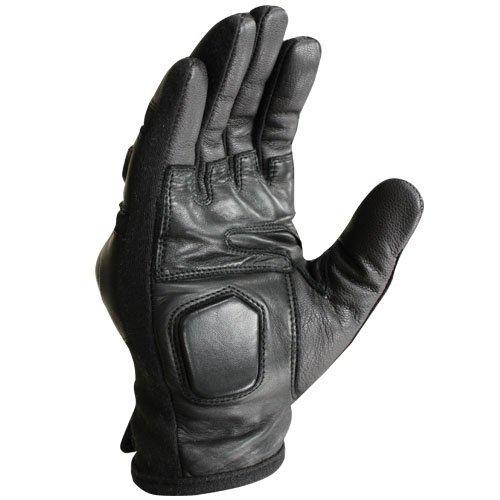 Condor Leather Gloves - Condor Syncro Tactical Gloves - Black (Medium)
