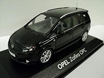 Vauxhall Zafira B Black 1 43 Scale Diecast Model Car By Minichamps Spielzeug