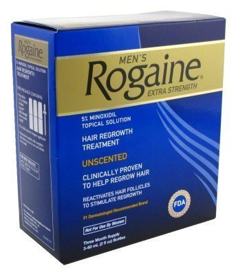 Men's Rogaine Extra Strength Solution 2 pack