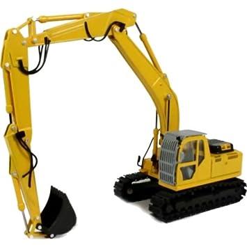 New Holland E215B Long Boom Excavator: Amazon co uk: Toys