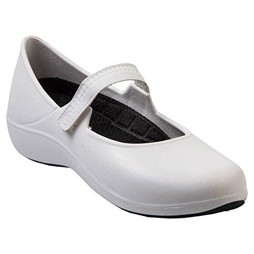 - DAWGS Extreme Women's Mary Jane Work Shoes White Black Size 11