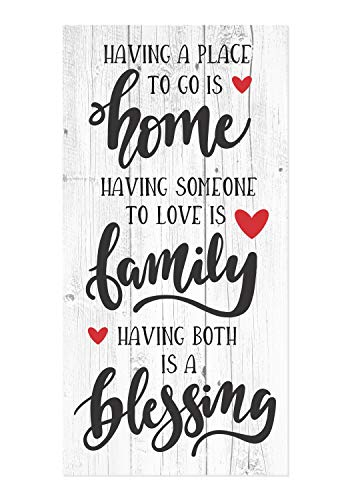 Having A Place to Go is Home Rustic Wood Wall Sign 9×18