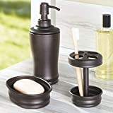 iDesign Olivia Metal Tall Pump, Liquid Soap