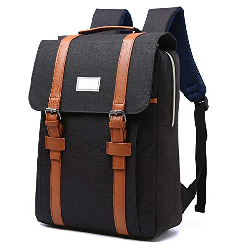 Men Women Canvas Backpacks School Bags Teenagers Large Capacity Laptop Backpack Fashion Men Backpack 01