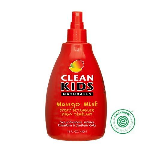 Clean Kids Naturally, Mango Mist Detangler 16 Ounce