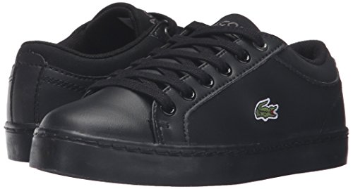 Pictures of Lacoste Unisex Straightset (Baby) Kids Sneaker Black 732SPC0103024 4