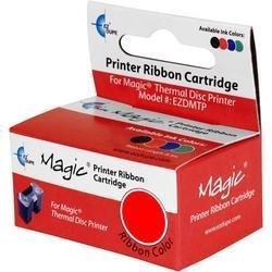 Red Thermal Ink Ribbon Cartridge for Stampa / EZ Dupe / Z-1 / P-11 Printer