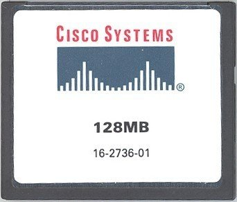 memory card - 128 MB - CF ( MEM2800-128CF= ) (Cisco 128 Mb Memory)