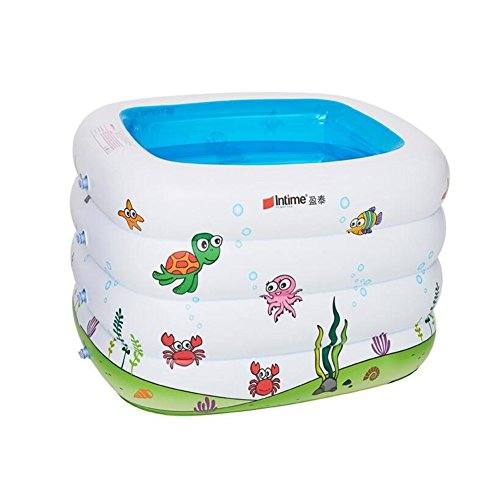 Fairy Baby Sea Swim Center Safety Inflatable Kiddie Pool,Blue