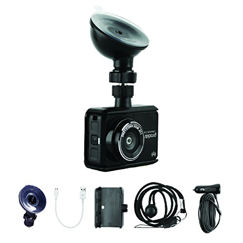 Full HD 1080p Dash Cam – WiFi Sports Action and Car Dashboard Camera – 120° Wide Angle Lens, Nightvision 8 Megapixel Sensor, 30 FPS Video Recorder – by ProduTrend