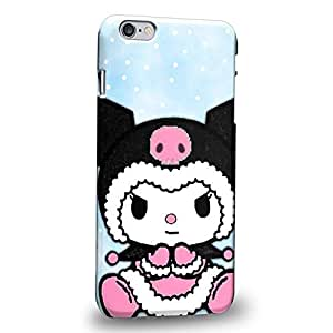 """Case88 Premium Designs My Melody & Kuromi Collection 0646 Protective Snap-on Hard Back Case Cover for Apple iPhone 6 Plus 5.5"""" (Not 4.7"""" Version !)"""
