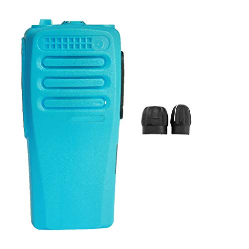 (GSTZ Blue Replacement Repair Case Housing Cover for Motorola CP200D Portable Radio)