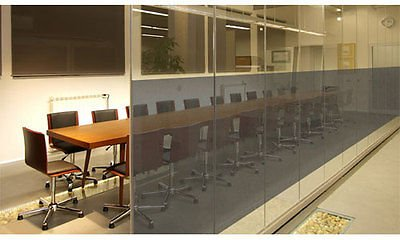 8 Mil Security Window Film 50% Black - 60'' Wide x 98 ft Roll by Wowdeal
