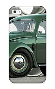 premium Phone Case For Iphone 5c/ Volkswagen Beetle 5 Tpu Case Cover WANGJING JINDA