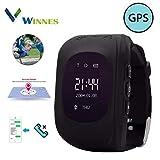 Kids Smartwatch, Winnes GPS Tracker Watch for Children with SOS Button GPS Watch