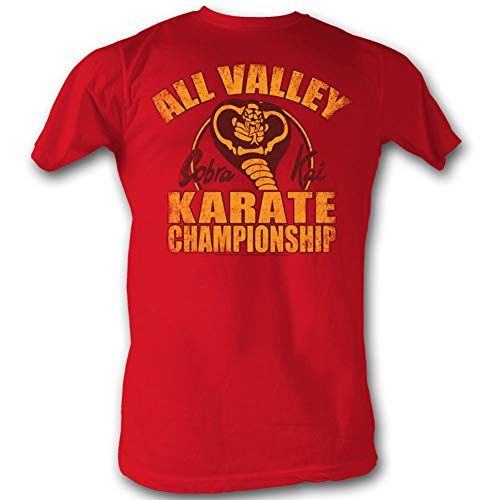American Classics Karate Kid Mens New Cobra Kai T-Shirt