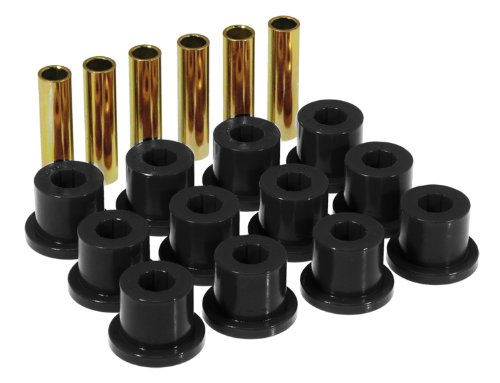 Prothane 7-1001-BL Black Rear Spring Eye and Shackle Bushing Kit by Prothane