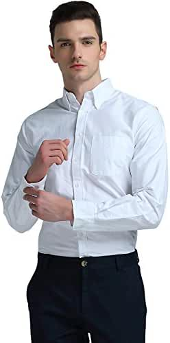 Atour Men's Long-Sleeve Casual Business Shirt for Men