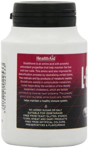 HealthAid L-Glutathione 250mg - 60 Tablets