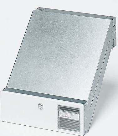 Siedle Durchwurfbriefkasten NACH DIN 32617 BKV 611-3/1-0 W, weiß, 2543561