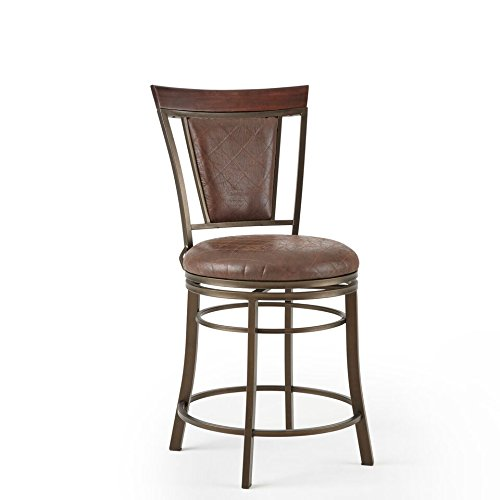 Steve Silver Cecile Swivel Counter Stool