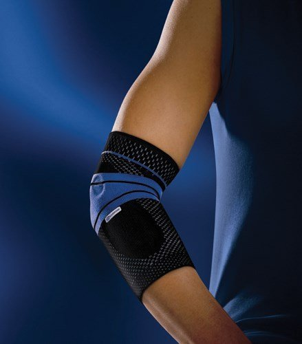 Bauerfeind EpiTrain Elbow Support - Size: 4, Black (11061603070004) by Bauerfeind by Bauerfeind