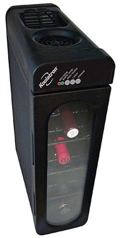 Koolatron WC04 Compact Thermoelectric 4-Bottle Wine Cooler