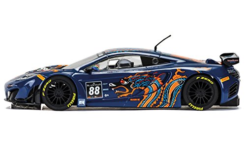 Scalextric Mclaren 12C Gt3 Von Ryan Racing 1:32 Slot Car C3850 Vehicle Replica (Senna 1 Light)