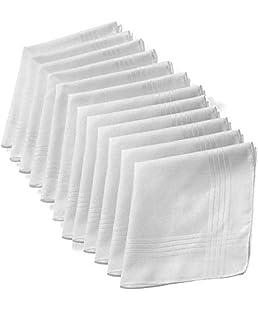 GRH Cotton Handkerchief for MEN(Pack of 6)