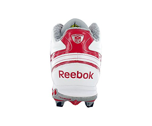 Reebok Hommes Nfl Full Blitz Kfs Ii H Football Taquet Blanc / Rouge