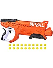Nerf Rival Curve Shot -- Helix XXI-2000 Blaster -- Fire Rounds to Curve Left, Right, Downward or Fire Straight -- 20 Nerf Rival Rounds