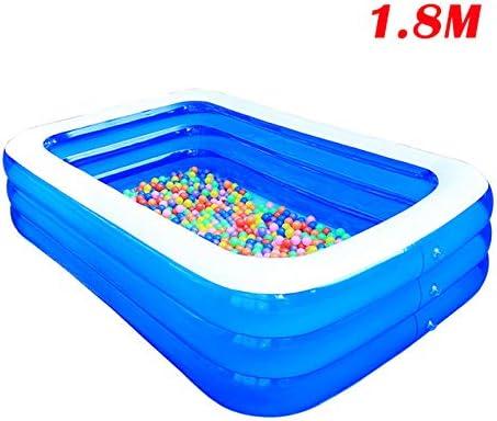 LinZX Plegable Piscina Hinchable para niños,1.8m: Amazon.es: Hogar