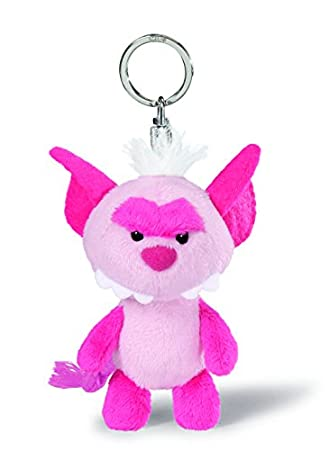 NICI - Llavero de peluche monstruo, color rosa brillante (34991): Amazon.es: Juguetes y juegos
